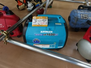 AIRMAN 防音 インバーター 発電機 HP1600SV