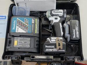 マキタ 充電式インパクトドライバー TD170DRFXW
