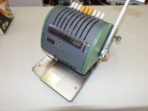 ニッポー チェックライター LD型 小切手 手形用紙 印字 レトロ