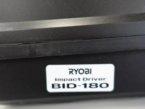 新品 RYOBI 充電式インパクトドライバー BID-180 18V