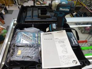 マキタ 18V6.0Ah充電式インパクトドライバ TD170DRGX