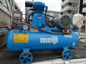 Meiji 明治機械 コンプレッサー GH-08D6 0.75kw 200V