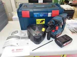 バッテリーハンマードリルGBH 36V-ECY(2.0Ahバッテリー2個、充電器、キャリングケース付き)