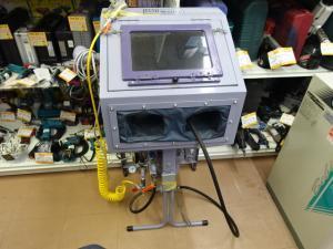 日立 PO-0.75L コンプレッサー & サンドブラスタ FUYO