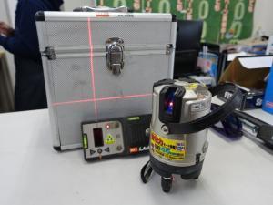 MAX マックス レーザー 墨出器 LA-402A 受光器付き