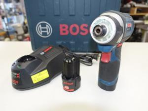 BOSCH 充電インパクトドライバー GDR10.8-LI 予備電池付