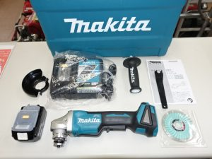 makita ディスクグラインダ GA408DRG 18V 6.0Ah 未使用品