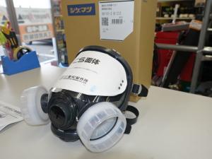 重松 シゲマツ GM165-2 直結式小型 防毒マスク 新品未使用
