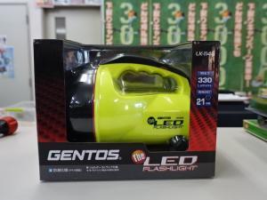 岡山店です。 業者さんから『商品に余分が出たから』と、GENTOS ジェントス LK-114G LED フラッシュライト を、買取りさせて頂きました。