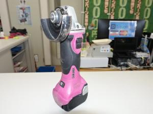 岡山店です。 岡山市のお客様から、日立 14.4V 100mm ディスクグラインダー G14DSLを、買取りさせて頂きました。