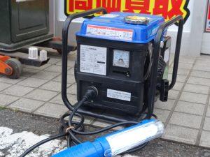 岡山店です。 岡山市のお客様から、アドフィールド インバーター式携帯発電機 GT800 中古品を買取りさせて頂きました。