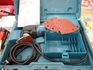 津山店です。 津山市のお客様から、マキタ マルチツールTM3010CT工具レスブレード交換タイプを、買取らせて頂きました。