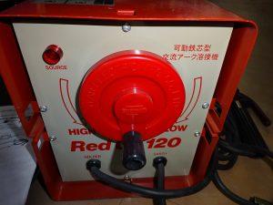 岡山店です。 岡山市のお客様から、美品 スズキッド アーク溶接機 SSY-121R 60Hz レッツゴー120を買取りさせて頂きました。
