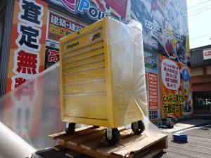 岡山店です。 岡山市のお客様から、スナップオン ロールキャブ KRA4008 工具箱を買い取らせてもらったと思ったら?・売れちゃいました。