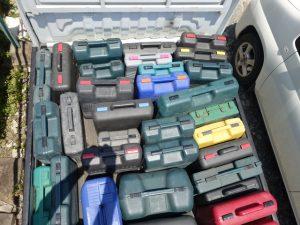 岡山店です。 岡山市のお客様の、マキタ 日立 リョービ パナソニック インパクトドライバー 釘打ち タッカーなどなど査定のみをさせて頂きました。