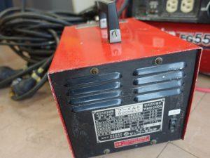 岡山店です。 岡山市のお客様から、サンコー 低圧共振溶接機 ブーメルト SS-100 100・200V兼用機を買取りさせて頂きました。