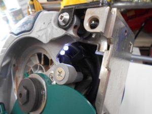 岡山店です。 岡山市のお客様から、 HITACHI 日立工機 リフォーム用 丸のこC5MR 145mm を買取りさせて頂きました。