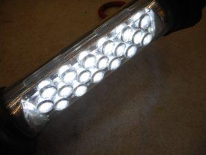 津山店です。 津山市のお客様から、SK11 ハンドライト ワークライト LED SLW-18DB-F4を、買取らせて頂きました。