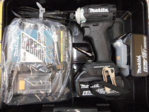 岡山店です。 岡山市のお客様から、マキタ 充電式インパクトドライバ TD170DRGXB 黒 18V 6.0Ahを買取りさせて頂きました。