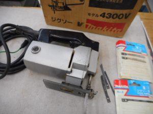 岡山店です。 岡山市のお客様から、makita マキタ 電子ジグソー 4300V 刃付きを買取りさせて頂きました。