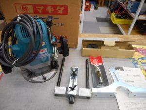 岡山店です。 岡山市のお客様から、美品 makita マキタ ルーター 3612BRA 100V プロ用 ブレーキ付を買取りさせて頂きました。