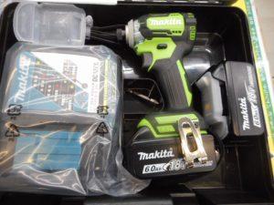 津山店です。 津山市のお客様から、マキタ 充電式インパクトドライバ 18V TD170DRGL 楽らくモードを、買取らせて頂きました。