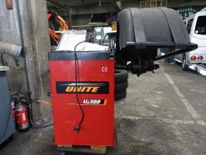 岡山店です。 岡山市のお客様からのご依頼で、UNITE U-500 Car Wheel Balancer ホイールバランサーの、買取り査定に行かせて頂きました。