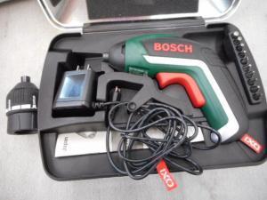 津山店です。 津山市のお客様から、美品 BOSCH ボッシュ バッテリードライバー IXO5を、買取らせて頂きました。