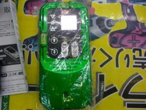 岡山店です。 岡山市のお客様から、MAX レーザー 自動 追尾台 LA-NV1/D5GNV 未使用品を、買取りさせて頂きました。