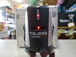 岡山店です。 岡山市のお客様から、Tajima タジマ AL-TYZ オートレーザー 墨出し器を、買取りさせて頂きました。