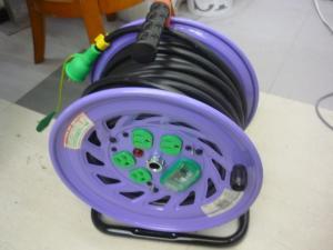 岡山店です。 岡山市のお客様から、日動工業 手動復帰型 温度センサー付 30m 電工ドラム 屋内型 NF-EB34を、買取りさせて頂きました。