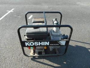 岡山店です。 岡山市のお客様から、 KOSHIN ポンプ MISUUBISHI 4.0HP エンジンポンプを、買取りさせて頂きました。