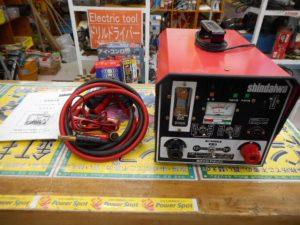 岡山店です。 岡山市のお客様から、新ダイワ エンジンスターター BT201 中古美品を、買取りさせて頂きました。