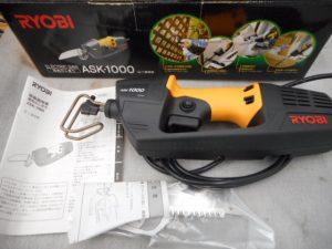 岡山店です。 岡山市のお客様から、新品 RYOBI 電気のこぎり ASK-1000を、買取りさせて頂きました。