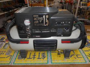 津山店です。 津山市のお客様から、マキタ エアコンプレッサー AC1201 1.5 中古品を、買取らせて頂きました。
