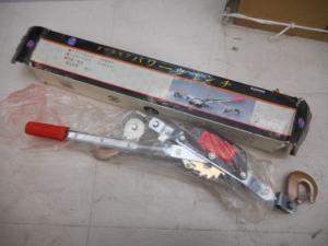 津山店です。 津山市のお客様から、パワーウインチ ダブルギア BQ2000B 美品を、買取らせて頂きました。
