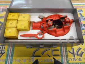岡山店です。 岡山市のお客様から、 SONE ねじ切 小型 手動 中古品を、買取りさせて頂きました。