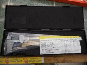 津山店です。 津山市のお客様から、ミツトヨ デジタルノギス CD-30PMX 計り 径 大きめ 新品 未使用品を、買取らせて頂きました。