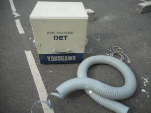 岡山店です。 岡山市のお客様から、淀川 YODOGAWA カートリッジフィルター 集塵機(0.2kW) DET200A 中古品を、買取りさせて頂きました。