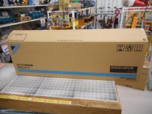 津山店です。 津山市のお客様から、ダイキン工業 セラムヒート ERKS15NV 200V 1.5 電気 首振り 未使用品を、買取らせて頂きました。