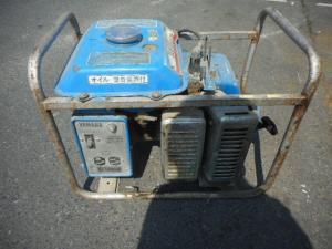 津山店です。 津山市のお客様から、ヤマハ 発電機 EF1900-M 錆びあり 100V 中古を、買取らせて頂きました