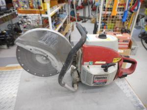 津山店です。 津山市のお客様から、新ダイワ エンジンカッター EC7500 コンクリート 土木 中古品を、買取らせて頂きました。