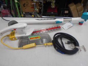 津山店です。 津山市のお客様から、電気式ガーデントリマー P-230を、買取らせて頂きました。