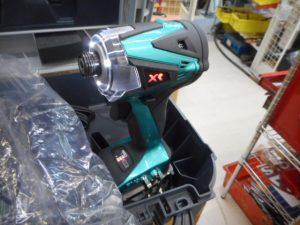 津山店です。 津山市のお客様から、リョービ インパクトドライバー BID-10XR パラオグリーンメタリック 18V 6A 未使用品を、買取らせて頂きました。