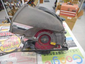 岡山店です。 岡山市のお客様から、新ダイワ 防塵マルノコ B8NⅡ 木工 鉄工 アルミ 板 中古品を、買取りさせて頂きました。