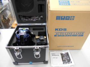 岡山店です。 岡山市のお客様から、 ムラテック KDS 高輝度レーザー墨出器 ATL-85RSA [本体+受光器+三脚]セット 未使用品 を、買取りさせて頂きました。