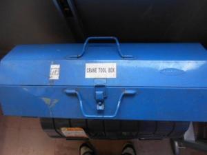 岡山店です。 岡山市のお客様から、 大きめ TOYO ツールボックス 工具箱 道具箱 中古品を、買取りさせて頂きました。