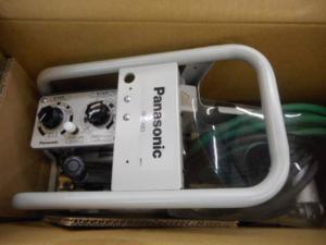 津山店です。 津山市のお客様から、パナソニック 溶接ワイヤ送給装置 YW-35KB3 送り 電気 半自動 新品 未使用品を、買取らせて頂きました。