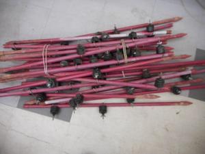 ゲッタエースⅡ ACE-12 猪 動物 山 田んぼ 畑 高圧電流 電気 電池 セット 小型 中古品