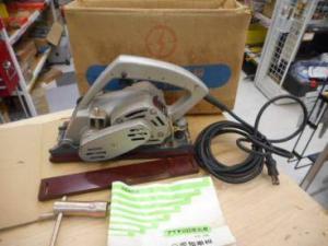 アイチ  目地払機  V2-3型  愛知電機  通電確認済み  木工  大工 中古品